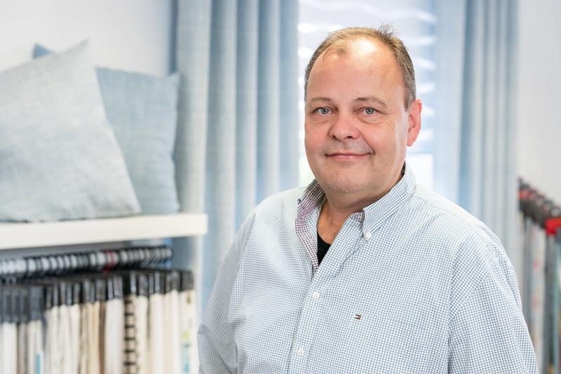 Detlev Kobusch, Raumausstatter mit langjähriger Erfahrung im Einzelhandel für Bodenbeläge